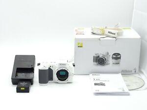 Nikon 1 V2 Systemkamera Weiß - Sehr Guter Zustand - Full HD -Vom Händler-