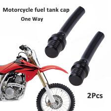 Forspero Alluminio carburante tappo serbatoio benzina sfiato tubo per Pit Dirt Bike 50cc 110cc 125cc Bianco