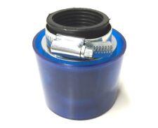 Tuning Sport Luftfilter Blau Rund 35mm für Zündapp, Hercules, Kreidler, Puch