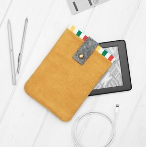 Corduroy Velvet Sleeve Cover Kindle Voyage Touch Oasis Paperwhite Signature 2021
