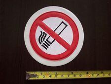 NO SMOKING Car TAX DISC HOLDER non-adhesive air pressure Decal Sticker NEW