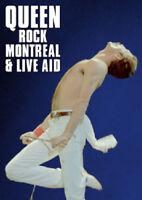 Queen: Rock Montreal/Live Aid DVD (2016) Queen cert E 2 discs ***NEW***