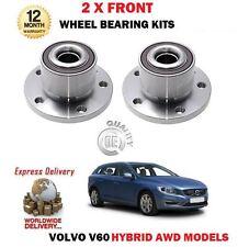 für Volvo V60 2.4 HYBRID D4 D5 AWD 2012- > NEU 2 x Vorderachse Radlager Sets