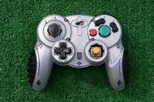 Nintendo Gamecube 2.4 GHZ Wireless MadCatz Controller gray.  E1