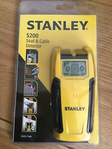 STANLEY S200 STUD & CABLE DETECTOR BRAND NEW IN SEALED PACKAGE