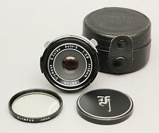 Olympus Pen e. zuiko 2,8/38mm Pancake Lens For PEN F FT FV