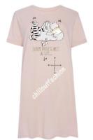 Ladies Nightshirt DISNEY WINNIE THE POOH Women's Nightdress Nightie Pyjamas 6-24