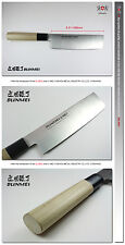 "Global-BUNMEI Nakiri Vegetable Chopping Knife 6.5"" Usuba Japanese Cutlery New"