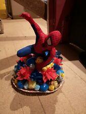 Easter bonnet Spiderman themed