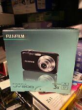 NEW Fujifilm FinePix JV Series JV200 14.0MP Digital Camera - Black (JV200)