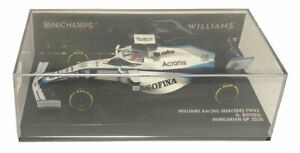 Minichamps Williams F1 FW43 #63 Hungarian GP 2020 - George Russell 1/43 Scale