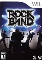 Nintendo Wii - Rock Band Video Game (2006) Complete w/ Manual - Free Ship