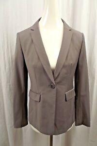 NEW Ann Taylor LOFT Womens Blazer 4 4P Petite Wool Boyfriend Jacket Suit Coat