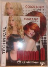 PASSION COLOR AND CUT VOLUME 14 NEW SEALED HAIR STYLING COLORING EDUCTION