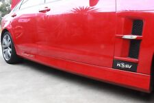 Used Pair Of HSV Clubsport VE E1 E2 E3  Side Skirts In Red Hot Sedan GTS Holden