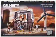 NIB MEGA BLOKS Call of Duty ZOMBIE TRANZIT FARM HORDE 06828 415pcs