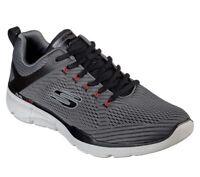 Skechers shoes Charcoal Men Memory Foam Mesh Train Sport Comfort Athletic 52927