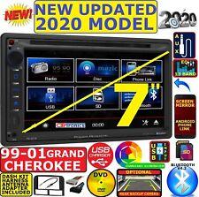 1999-2001 JEEP GRAND CHEROKEE BLUETOOTH CD/DVD USB AUX CAR RADIO STEREO PKG