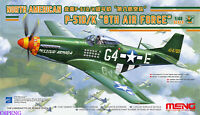 "MENG LS-010 1/48 NORTH AMERICAN P-51D/K ""8TH FORCE""LUDODACTYLUS Fighter MODEL"