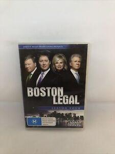 BOSTON LEGAL Season Four DVD REGION 4 Very Good Condition TV SHOW