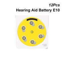 Pile pour appareil Auditif 10 1.4 V Zinc-Air Pile Bouton A10 E10 PR70 DA230