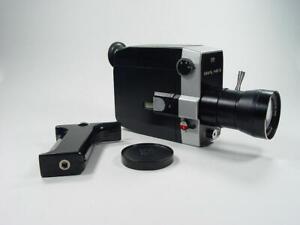 Exc++ Zenit Quartz 1x8C-2 Mechanical Super 8 Zoom refl Movie Camera 8306908