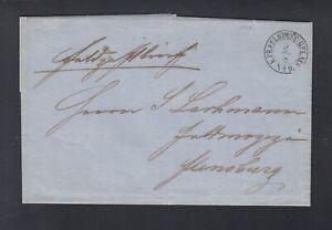 Preussen Dt.-Dänische Krieg Feldpost 1864 Kolding nach Flensburg
