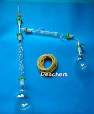 1000ml,24/29,Distillation Apparatus,Lab Glassware Unit,With 200mm Vigreux column