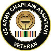 """Army Chaplain Assistant Gulf War / Desert Storm Veteran 5.5"""" Decal / Sticker"""