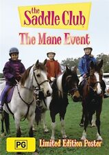 The Saddle Club - THE MANE EVENT DVD RARE ORIGINAL - Horses Show