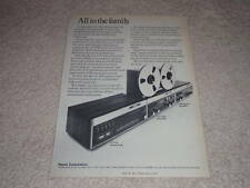 Revox A77 Open Reel,A76 Tuner,A78 Amp Ad,1973,Article