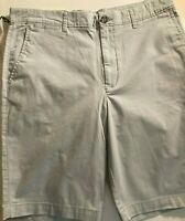 """Goodfellow & Co Men's 10.5"""" Flat Front Solid Shorts Tan Size 32 New w/ Tags"""