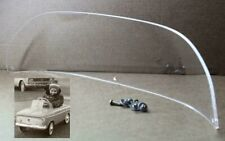 Windshield pedal car Moskvich USSR Soviet toy
