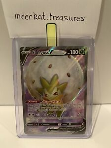 Eldegoss V Ultra Rare Full Art Rebel Clash Pokemon Card PACK FRESH