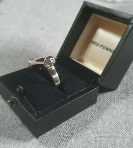 Theo Fennell 18ct White Gold Shaft Ring 13.4g