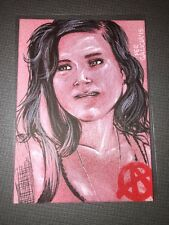 Sons Of Anarchy Trading Cards Seasons 4&5 Authentic 1/1 Sketch Card.
