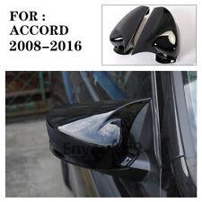 Gloss Black Rear View Mirror Cover Trim For Honda Accord 2008 2016 Fits Honda