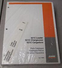 Case 921C Loader Parts Manual Catalog 7-4582 2002