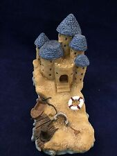 "Blue Roof Sand Castle 7"" Long and 5"" Tall"