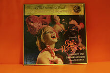 OFFENBACH - GAITE PARISIENNE - HOLLYWOOD BOWL FELIX SLATKIN VINYL LP RECORD -L