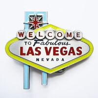 Men Belt Buckle Las Vegas Sign Belt Buckle Gurtelschnalle Boucle de ceinture