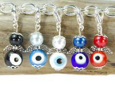 10 DIY mini Perlenengel Anhänger Augenperlen Nazar Esoterik böser Blick Schutz