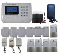 Q19101 Zones GSM PSTN Wireless Home Alarm Security System SMS Call Easy Install