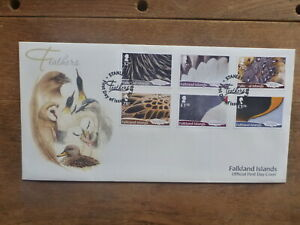 FALKLAND Is. 2019 FEATHERS OF LOCAL BIRDS SET 6 STAMPS FIRST DAY COVER