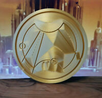 Rose Gallifreyan Seal Doctor Who Inspired Prop Replica / Gift - 3D Printed