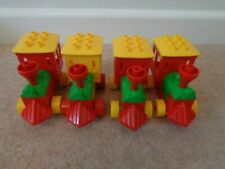 DUPLO TRAIN ENGINE PUSH ALONG x 4