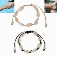 Boho Natural Cowrie Beads Shell Anklet Bracelet Handmade Beach Foot Jewelry Gift
