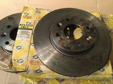 Renault 18 Pair of Turbo Front Ventilated Brake Discs new part no 7700715412