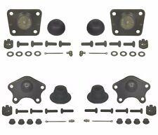 For Toyota 4Runner Pickup Pair Set of 2 Front Lower & Upper Ball Joints Moog