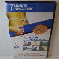 7 Minute Power ABS Exercise DVD New Factory Sealed total body bean blaster